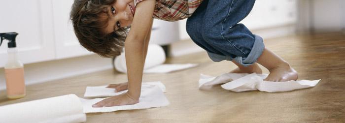 PVC Boden reinigen
